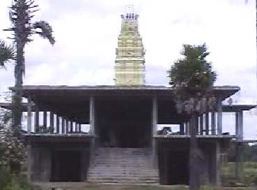 Front View of Sre Kagabujandar Guru Temple