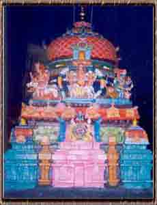 The Main Tower of Bairavar Temple